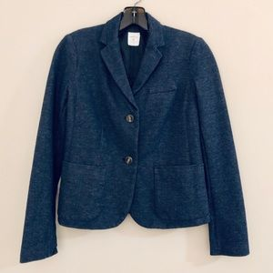 THE GAP ACADEMY BLAZER IN TRUE BLUE DENIM WASH